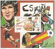 Djibouti Hb Michel 54A Y 55A - Fußball-Weltmeisterschaft