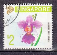 Singapore 1991 Mi Nr 627 2$  Orchidee - Singapore (1959-...)
