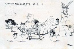 SCUOLA MILITARE - 2° CORSO 1912/13 - VIAGGIATA - Regiments