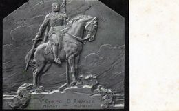 V° CORPO D' ARMATA - VIAGGIATA - Regiments