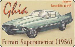 Tschechoslowakei Phonecard Oldtimer Car Auto Ferrari Superamerika - Czechoslovakia