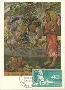 POLYNESIE : PA N° 12. CARTE MAXIMUM . PAUL GAUGUIN . TB . 1965 - Maximum Cards