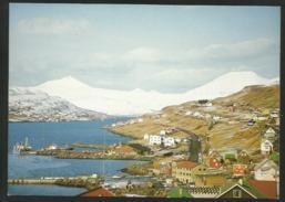 FAROE ISLANDS Toftir Village On The Island Of Eysturoy - Faroe Islands