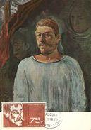 POLYNESIE : PA N° 13. CARTE MAXIMUM . PAUL GAUGUIN . Rare . 1965 - Maximum Cards