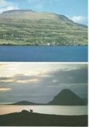 FAROE ISLANDS Vid Sjogv Island Of Koltur 2 Cards - Faroe Islands
