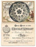 Chromo Chocolat LOMBART - Série Porcelaine, Faience - DELFT - Lombart