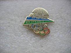 Pin's De Saint Dié Des Vosges Aux Jeux Olympiques De Barcelone En 1992 - Jeux Olympiques
