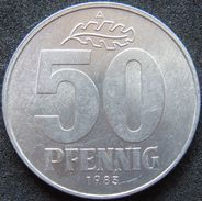 East Germany 50 Pfennig 1983 - [ 6] 1949-1990 : GDR - German Dem. Rep.
