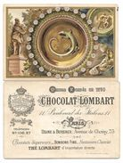 Chromo Chocolat LOMBART - Série Porcelaine, Faience - Bernard PALISSY - Lombart