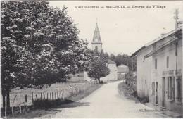 SAINTE-CROIX - Entrée Du Village - Café-Restaurant Nallet - RARE - TBE - Altri Comuni