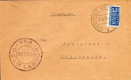 Neuhaus/Paderborn,01.08.1950 To Hildesheim,see Scan - Zone Anglo-Américaine