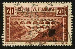 FRANCE - YT 262A - PONT DU GARD - TIMBRE OBLITERE - France