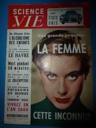 1955 SCIENCE Et VIE  --> Le Havre , Champion D'Europe De La Reconstruction; ALCOOLISME Des Enfants ; Etc - Science