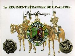 Militaria -   1er Régiment Etranger De Cavalerie - Garde à L'Etendard - - Bandiere