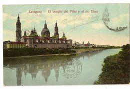 S6470 -  Zaragoza - El Templo Del Pilar Y El Rio Ebro - Zaragoza