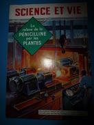 1954 SCIENCE Et VIE  N° 440--> Les Plantes Remplacent La Pénicilline; Les Hirondelles Championnes En Acrobatie; Etc - Science