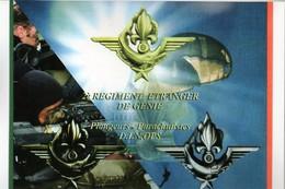 Militaria -   2ème Régiment Etranger Du Génie - Plongeurs Parachutistes - DIN OPS  - - Livres, Revues & Catalogues