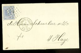 BRIEFOMSLAG Uit 1874 Gelopen Van AMSTERDAM Naar 's-GRAVENHAGE  (10.642q) - Period 1852-1890 (Willem III)