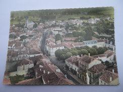 CPSM 16 - CHARENTE - EN AVION AU-DESSUS D' AIGRE - France