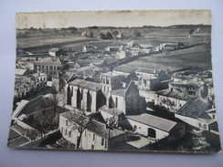 CPSM 16 - CHARENTE - EN AVION AU-DESSUS DE LIGNIERES SONNEVILLE - France