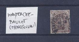 N°136 (ntz) GESTEMPELD Wanfercee-Baulet - 1915-1920 Albert I