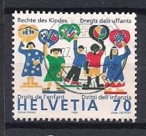 YT N° 1623 - Oblitéré - Anniversaires - Suiza