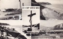 CPA Le Cap Gris Nez, Le Plare, Le Pointe Du Cap, Le Calvaire,... (pk37508) - France