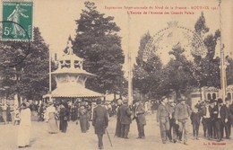 CPA Exposition Internationale Du Nord De La France, Roubaix 1911, L'entrée De L'avanue Des Grands Palais (pk37519) - Roubaix