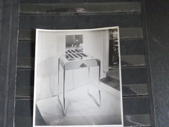 Photo Originale - Mobilier De Salon De Coiffure Art Deco (vers 1920) Format 12*17 Cm Chauffe Bigoudis - Professions