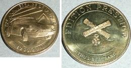Médaille Arthus Bertrand Edition Prestige, 55e Anniversaire De La DS 19, 1955-2010, Citroën - 2010