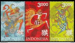 Indonesia - Indonesie New Issue 24-01-2016 (Serie)  ZBL 3319-3321 - Indonésie