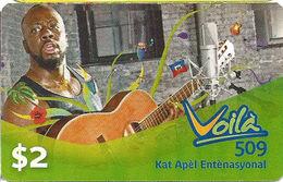 Voila 509 Paper Phone Card - United States