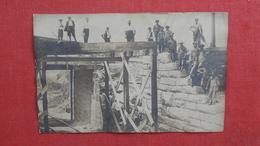 RPPC Construction Crew At Work  Ref 2645 - Postcards