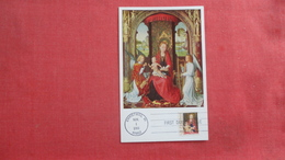 Maximum Card First Day Of Issue  Madonna & Child With Angels Ref 2645 - Virgen Mary & Madonnas