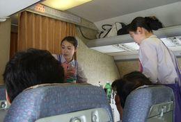 T80-076  ]  Flight Attendants Air Attendants Stewardesses Hostesses Cabin Crew , China Pre-paid Card, Postal Statioery - Jobs