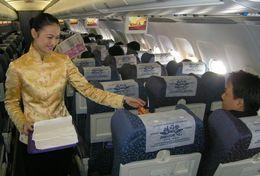 T80-085  ]  Flight Attendants Air Attendants Stewardesses Hostesses Cabin Crew , China Pre-paid Card, Postal Statioery - Jobs