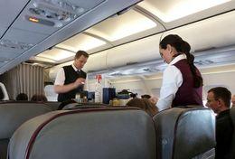 T80-093  ]  Flight Attendants Air Attendants Stewardesses Hostesses Cabin Crew , China Pre-paid Card, Postal Stationery - Jobs