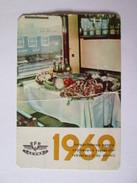 Romania,IEVRD-CFR Pocket Calendar 1969 - Small : 1961-70