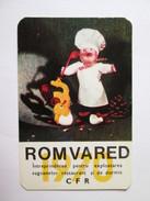 Romania,Romvared-CFR Pocket Calendar 1970 - Small : 1961-70