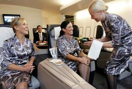 T80-102 ]  Flight Attendants Air Attendants Stewardesses Hostesses Cabin Crew , China Pre-paid Card, Postal Stationery - Jobs