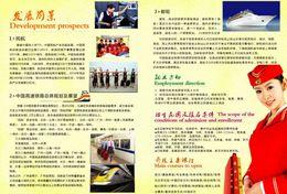 T80-110 ]  Flight Attendants Air Attendants Stewardesses Hostesses Cabin Crew , China Pre-paid Card, Postal Stationery - Jobs
