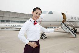 T80-111 ]  Flight Attendants Air Attendants Stewardesses Hostesses Cabin Crew , China Pre-paid Card, Postal Stationery - Jobs
