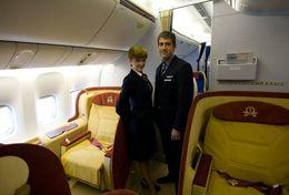 T80-113 ]  Flight Attendants Air Attendants Stewardesses Hostesses Cabin Crew , China Pre-paid Card, Postal Stationery - Jobs