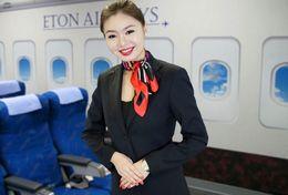 T80-116 ]  Flight Attendants Air Attendants Stewardesses Hostesses Cabin Crew , China Pre-paid Card, Postal Stationery - Jobs