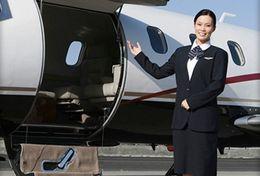 T80-122 ]  Flight Attendants Air Attendants Stewardesses Hostesses Cabin Crew , China Pre-paid Card, Postal Stationery - Jobs