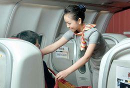 T80-123 ]  Flight Attendants Air Attendants Stewardesses Hostesses Cabin Crew , China Pre-paid Card, Postal Stationery - Jobs