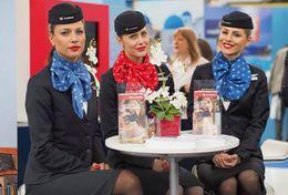 T80-130 ]  Flight Attendants Air Attendants Stewardesses Hostesses Cabin Crew , China Pre-paid Card, Postal Stationery - Jobs