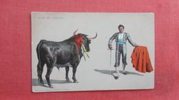 Bull Fight  Pase De Tanteo   Ref 2646 - Corrida