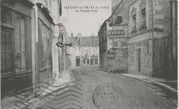 SAVIGNY-SUR-BRAYE - LA GRANDE RUE - 1939 - France