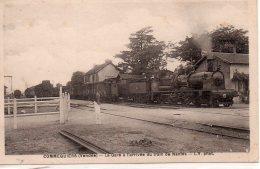 Commequiers : La Gare à L'arrivée Du Train De Nantes - France